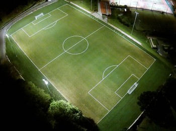 Cammeray Oval football field from above